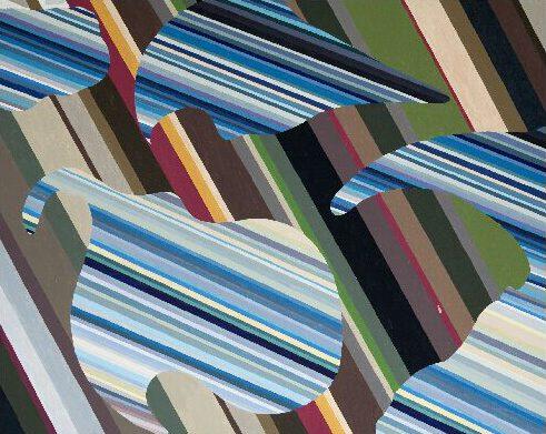 Claudia Nichelmann - Himmel und Erde - 2009 - Acryl auf Leinwand - 70 x 90 cm