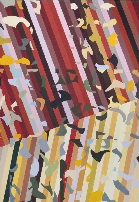 Claudia Nichelmann - Autumn - 2005 - Acryl auf Leinwand - 175 x 125 cm