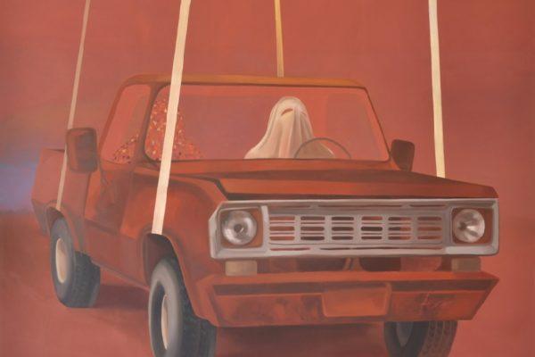 Melanie Kramer - Gehäuse VI - 2014 - Öl auf Leinwand - 175 x 195 cm