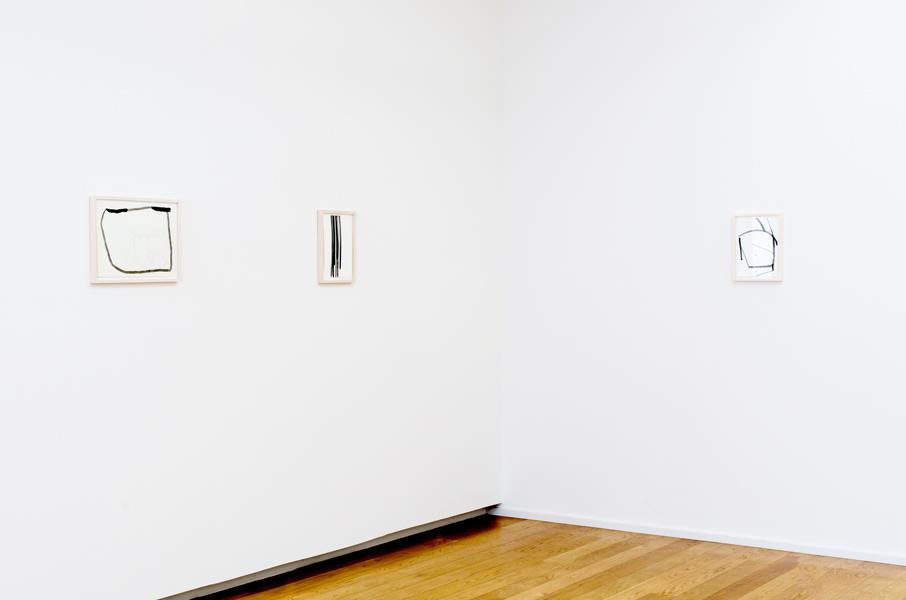 """Jakob Flohe - Ausstellungsansicht """"Heft eins"""" in der Städtischen Galerie Dresden - 2013"""
