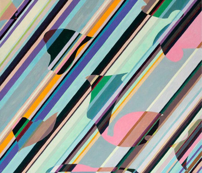 Claudia Nichelmann - o.T. - 2008 - Acryl auf Leinwand - 76 x 92 cm