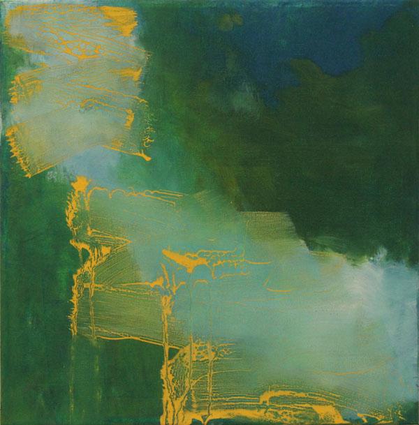 Anne Dubber - o.T. - 2014 - Ölfarbe, Eitempera auf Leinwand - 44 x 40 cm