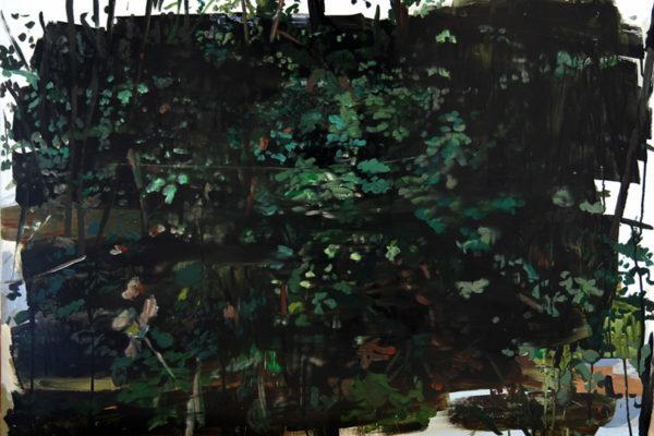Stefan Kübler - Blattwerk - 2014 - Acryl auf Leinwand - 70 x 100 cm