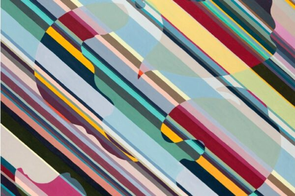 Claudia Nichelmann - Sleepy Wind - 2009 - Acryl auf Leinwand - 92 x 120 cm