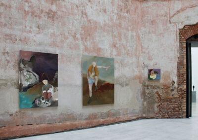 "Anne-Cathrin Brenner - Ansicht ""Diplomausstellung"" im Oktogon der HfBK Dresden - 2018"