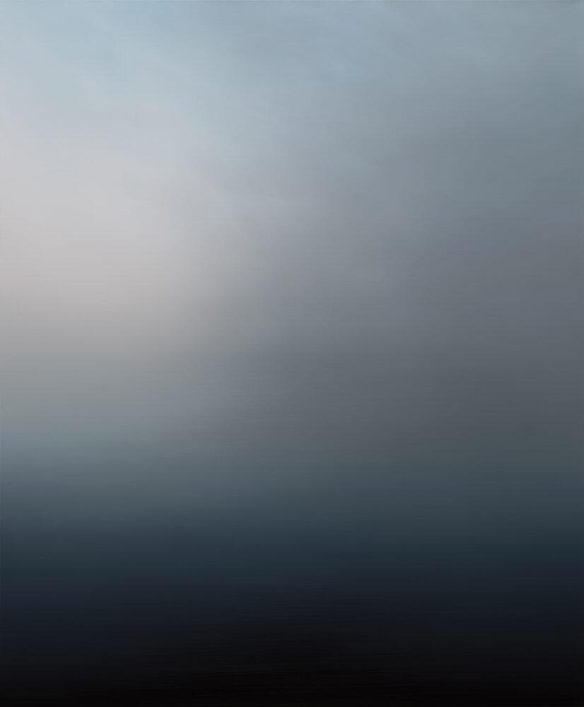 Jan Kromke - Landschaft 100.23 - 2018 - Öl auf Leinwand - 120 x 100 cm