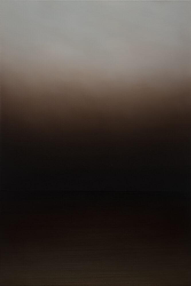 Jan Kromke - Landschaft 60.4 - 2017 - Öl auf Leinwand - 90 x 60 cm