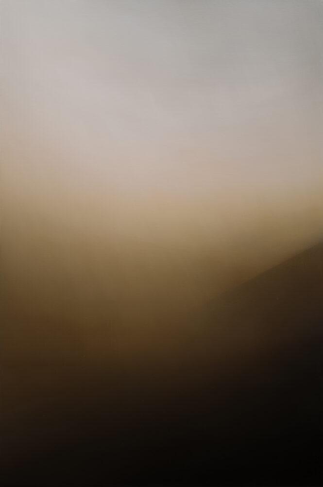 Jan Kromke - Landschaft 60.9 - 2019 - Öl auf Leinwand - 90 x 60 cm