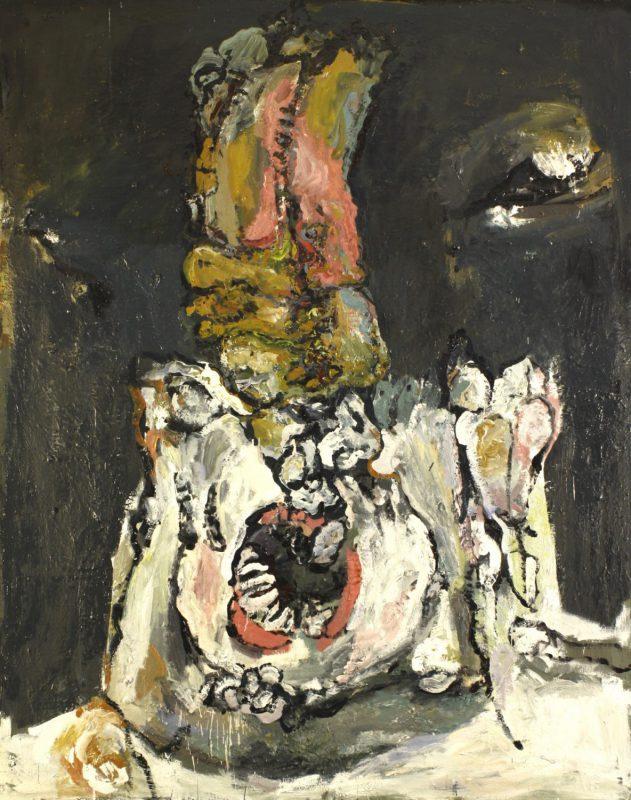 Anja Pletowski - Schrei - 2011 - Öl auf Leinwand - 170 x 135 cm