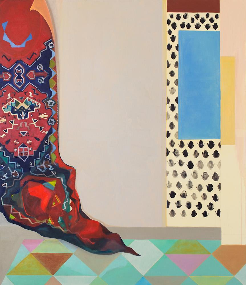 Melanie Kramer - o.T. - 2019 - Öl auf Leinwand - 150 x 130 cm