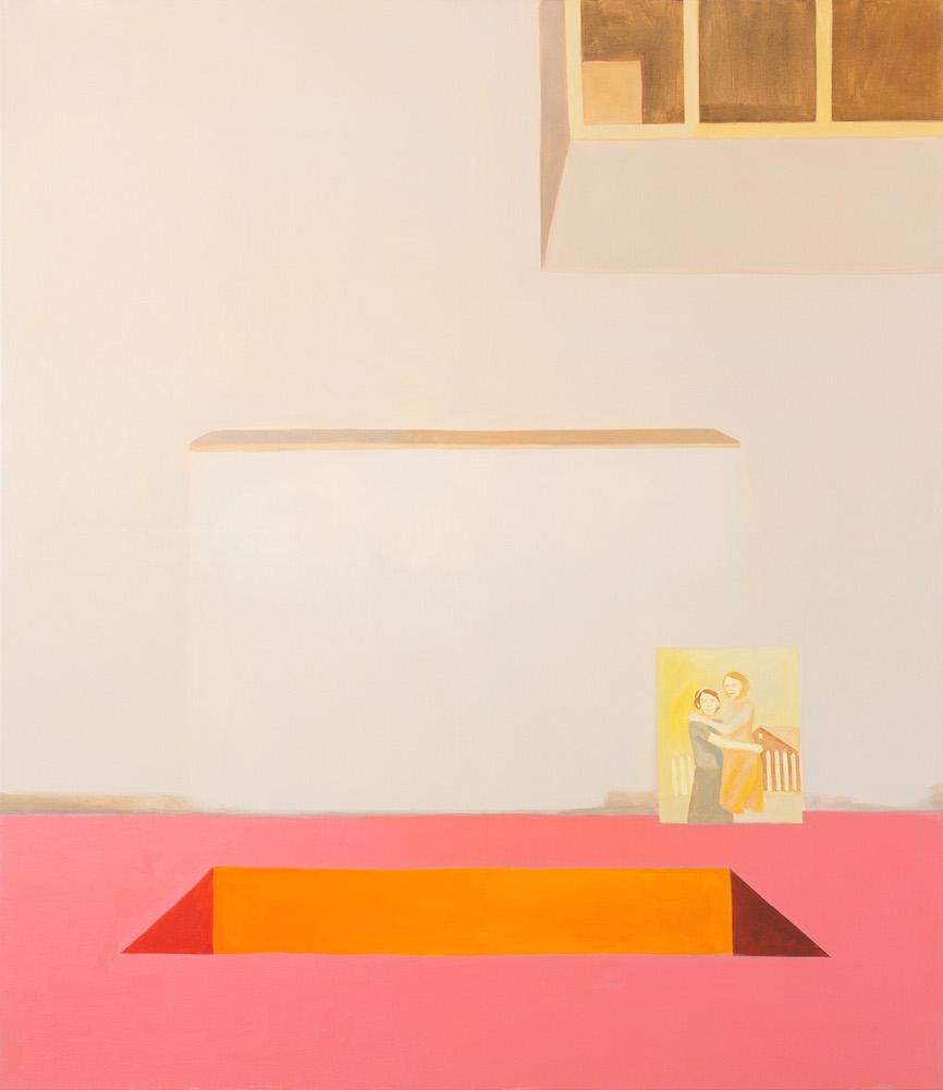 Melanie Kramer - Falsche Fährte - 2019 - Öl auf Leinwand - 150 x 130 cm