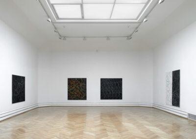 """Jana Morgenstern- Ausstellungsansicht """"Arbeiten 2007 – 2012"""" im Leonhardi-Museum Dresden, 2013"""