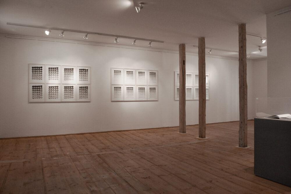 """Jana Morgenstern - Ausstellungsansicht """"Rübentage"""" im Kunsthaus Raskolnikow, 2018"""