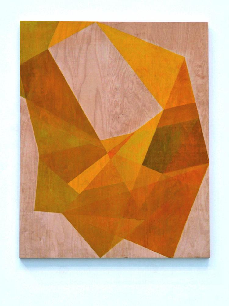 Silke Wobst - Ebeck - 2010 - Holz, Ölfarbe - 150 x 120 x 5 cm