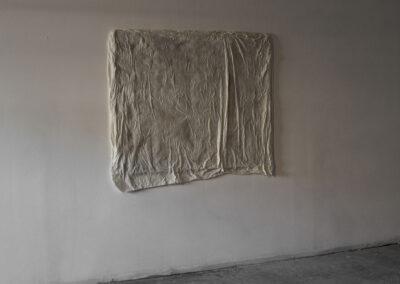 Ayelen Coccoz - Still#1 - 2014-2015 - Basrelief aus Bienenwachs, Paraffin, Pigmenten, Fiberglas, Holzrahmen - 120 x 145 x 3 cm