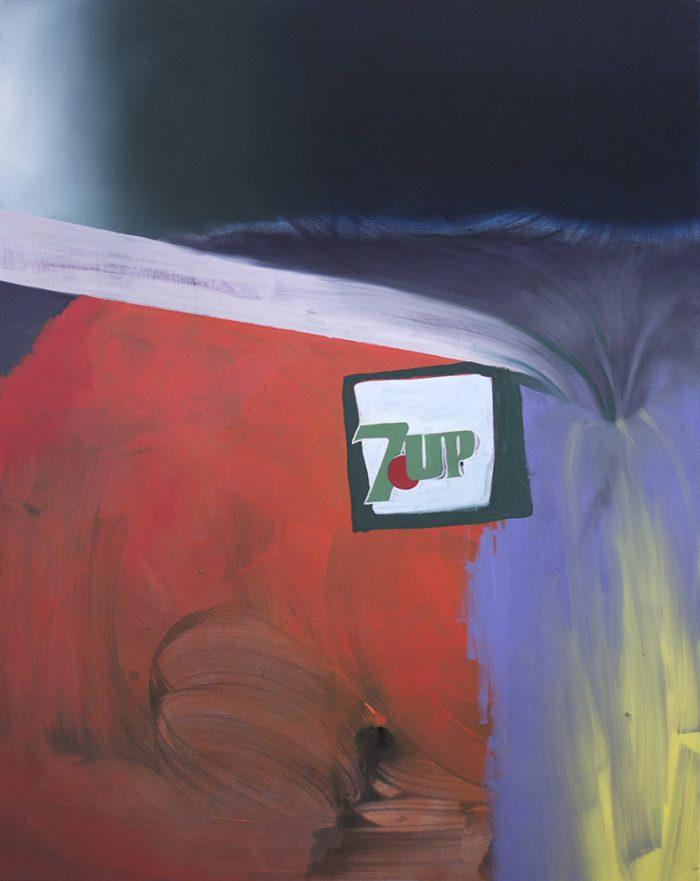 Noemi Durighello - 7UP - 2019 - Öl auf Leinwand - 152 x 160 cm