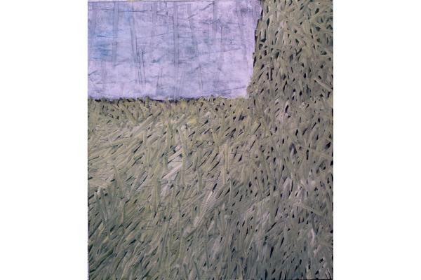 Anne Dubber - o.T. - 2015 - Ölfarbe, Eitempera auf Leinwand - 160 x 140 cm