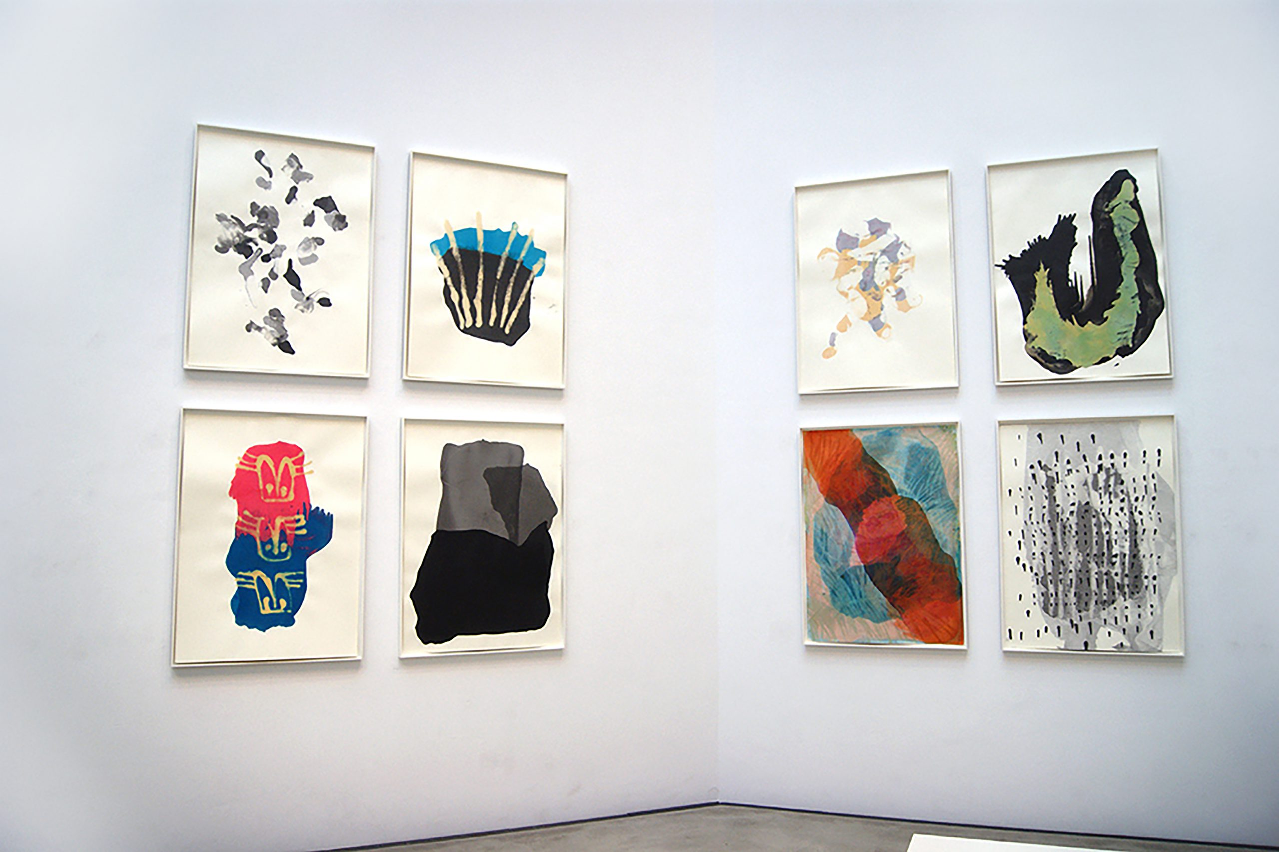 "Maria Katharina Morgenstern - Ansicht ""Diplomausstellung"", HfBK Dresden, 2018"