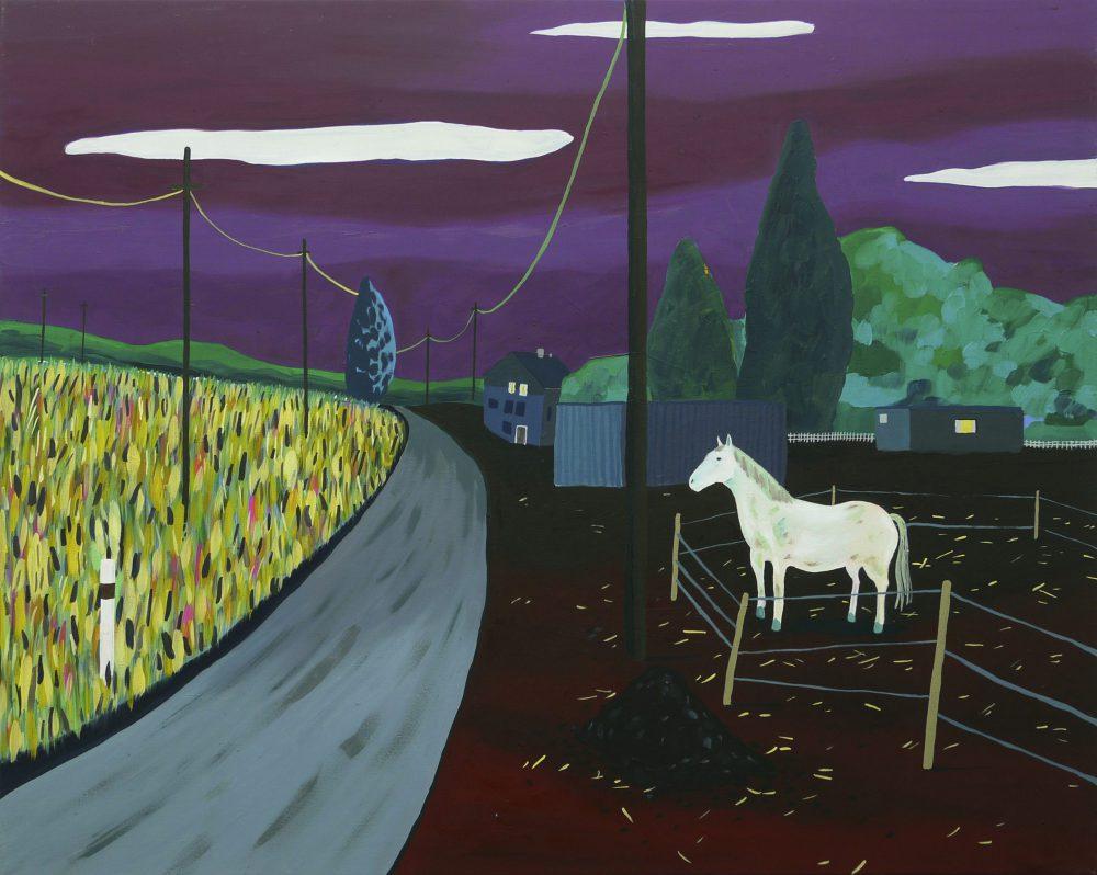 Falk Töpfer - Pferd - 2018 - Öl auf Leinwand - 80 x 100 cm
