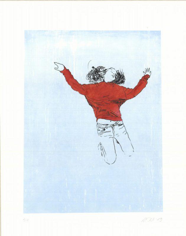 Antje Krohn - Marthas Freude - 2019 - Siebdruck - ca. 40 x 50 cm
