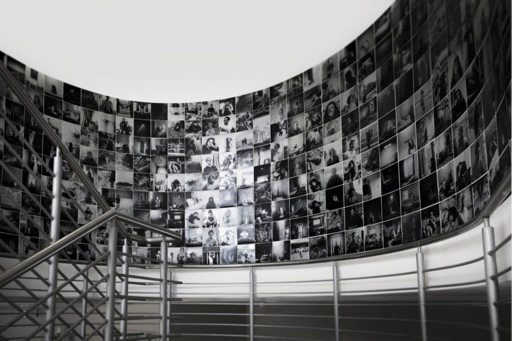 Arina Essipowitsch - Une Collecte (2018) - Installationsansicht im FBZ Bochum - 2018