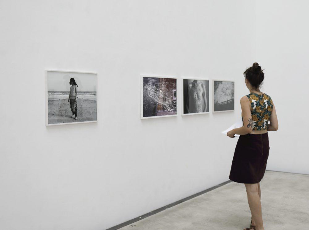 """Arina Essipowitsch - Ulysses (Serie) (2017) - Ausstellungsansicht """"EXISTENZ"""" im Oktogon der HfBK Dresden - 2018"""
