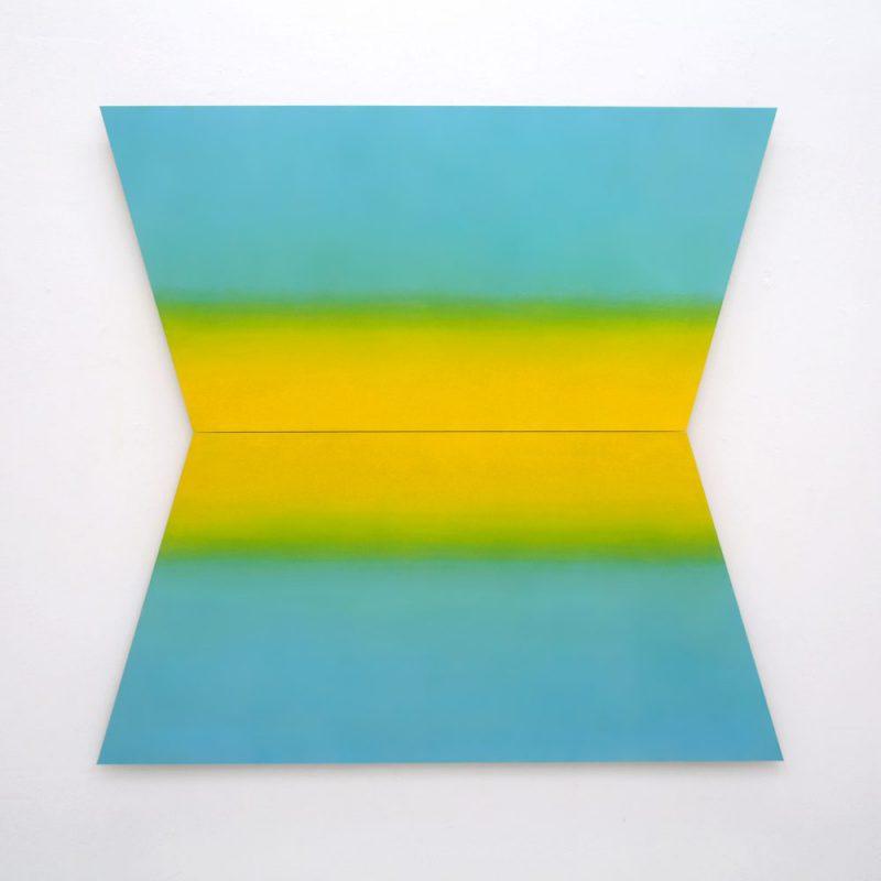 Antje Guske - Morgen - 2019 - Pastell auf Hartfaser - 120 x 125 cm