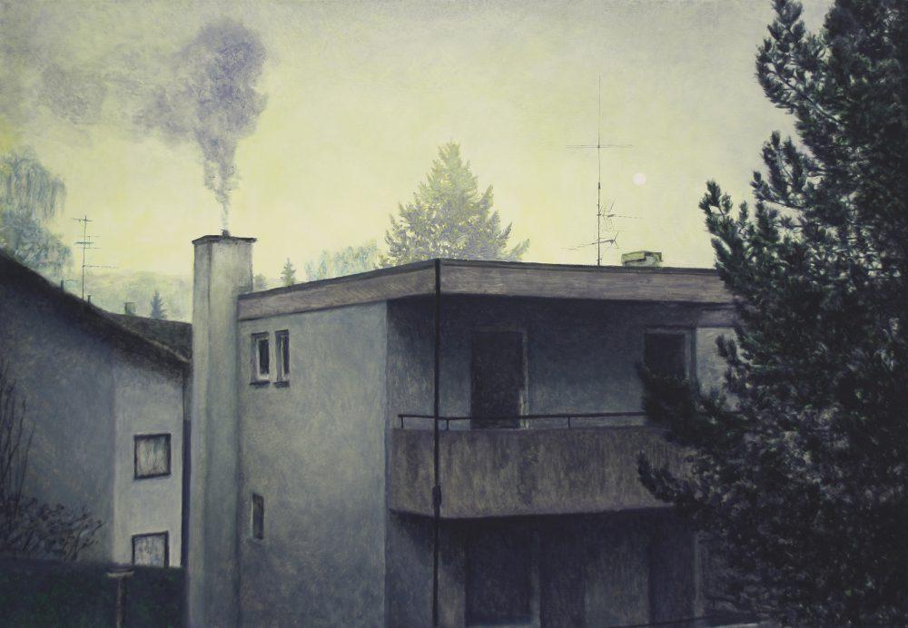 Thorsten Groetschel - Welten - 2017 - Öl auf Leinwand - 90 x 130 cm