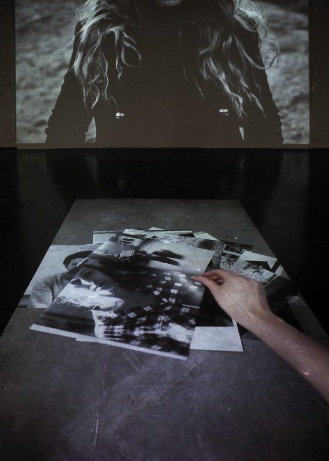 """Arina Essipowitsch - Ausstellungsansicht """"Equinoxe"""" im La Compagnie Lieu de Création, Marseille, FR - 2015"""
