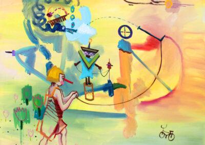 Viktoria Graf - Art of Study I - 2018 - Öl auf Leinwand - 80 x 80 cm