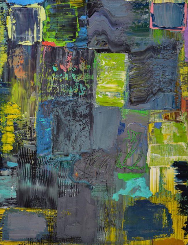Felix Lippmann - Neuer Wald II - 2018 - Öl auf Leinwand - 180 x 130 cm