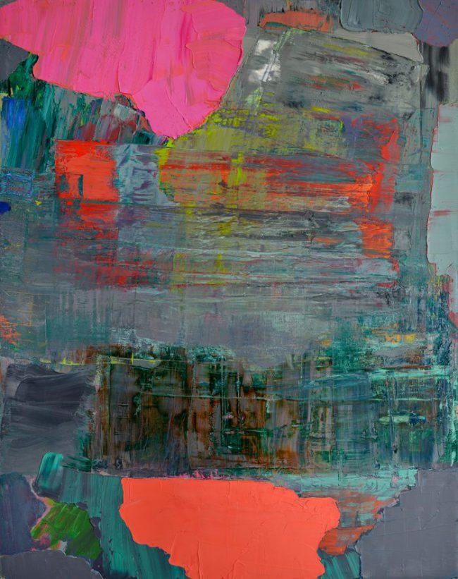 Felix Lippmann - Pinkes Bild II - 2018 - Öl auf Leinwand - 150 x 110 cm