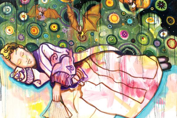 Viktoria Graf - Nightworking - 2018 - Öl auf Leinwand - 125 x 120 cm