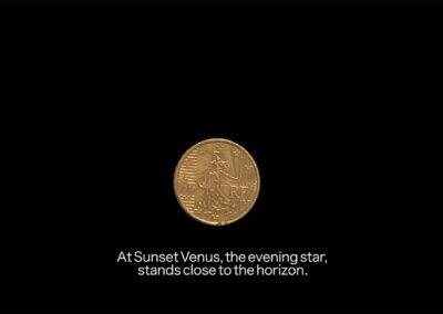 Karla Krey - Unser Sonnensystem (Videostill) - 2019 - Dokumentation H.264 codec – Dauer: 3:51 Min.
