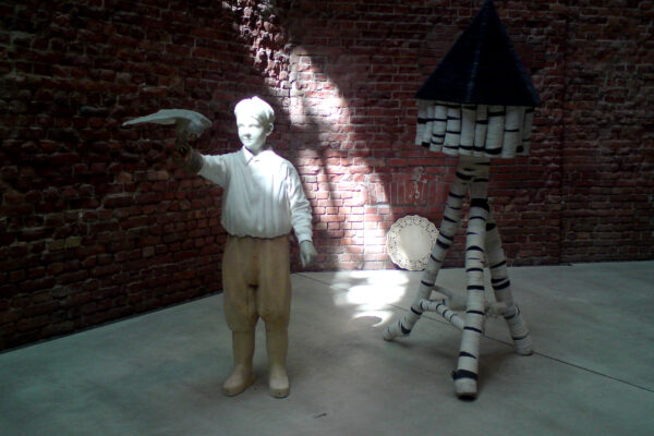 """Stefan Leyh - Ansicht """"Diplomausstellung"""", HfBK Dresden, 2008"""