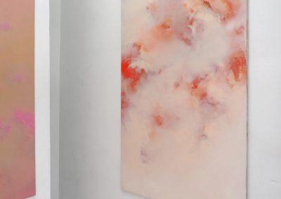 Marie Athenstaedt - Substanz 12 - 2018 - Öl auf Leinwand - 155 x 230 cm - Ausstellungsansicht, Leipzig, 2020