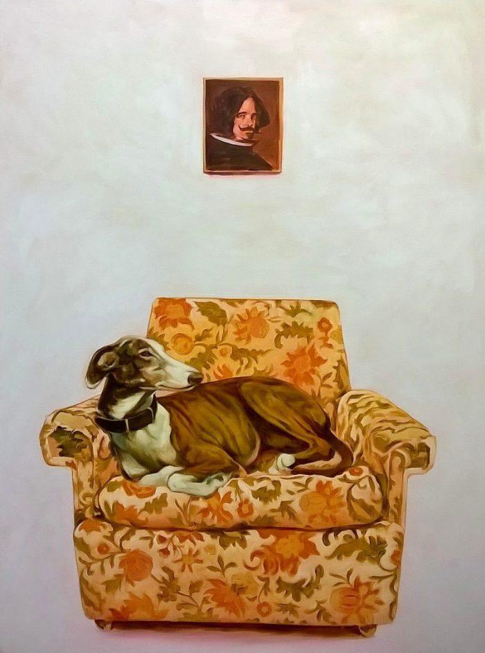 Ruben Müller - Diego - 2018 - Öl auf Leinwand - 120 x 160 cm
