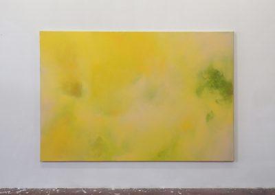 Marie Athenstaedt - Substanz 3 - 2018 - Öl auf Leinwand - 155 x 230 cm