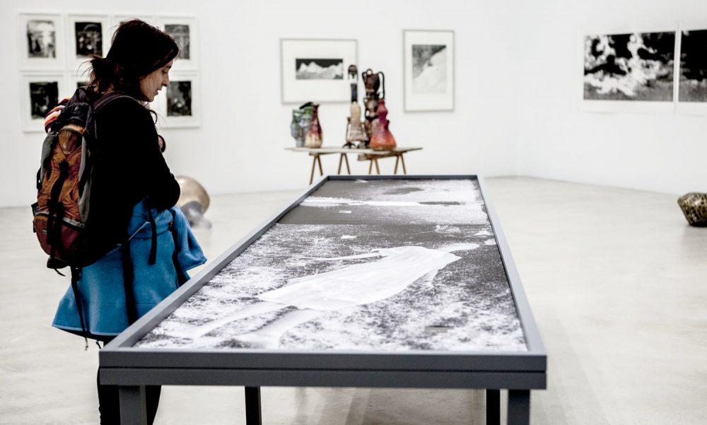 """Duo Hille/Essipowitsch - Ausstellungsansicht """"DAS ANDERE AUGE"""" im Oktogon, HfBK Dresden, 2015"""