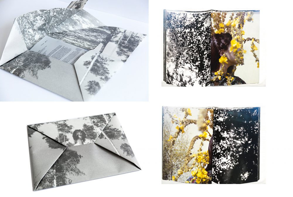 Duo Hille/Essipowitsch - Through The Looking Glass (Зеркало) - 2018 - Künstlerbuch mit 50 Fotografien, Siebdruck - Aufl. 50