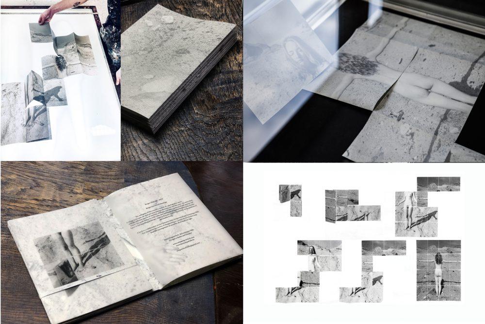 Duo Hille/Essipowitsch - Bergen - 2020 - Künstlerbuch, Siebdruck
