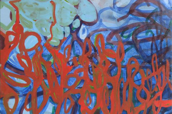 Thomas Blase - o.T. - 2019 - Öl auf Leinwand - 110 x 130 cm