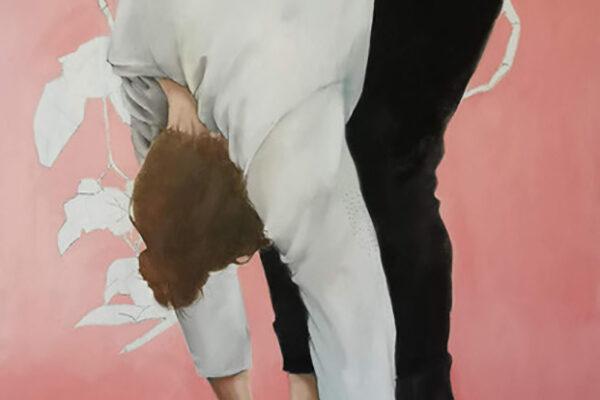 Ruben Müller - Lammträger - 2019 - Öl auf Leinwand - 160 x 120 cm