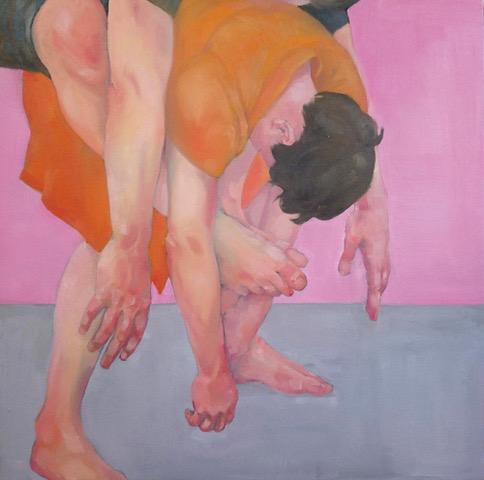 Helena Zubler - Die Wahrheit ist selten schlicht und niemals einfach - 2019 - Öl auf Leinwand - 75 x 75 cm
