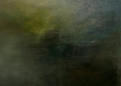 Swantje Ahlrichs – Die Sächsische Landschaft – 2015 – Öl auf Leinwand – 150 x 135 cm