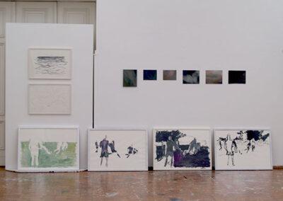 Swantje Ahlrichs - Vordiplom - Jahresausstellung, HfBK Dresden, 2014