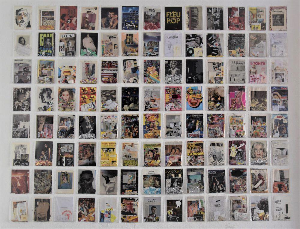 Jascha Wolfram - Transparencies - 2020 - Installationsansicht Hole of Fame, Dresden