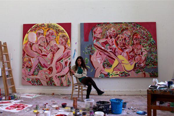 Lena Dobner - Atelieransicht Hochschule für Bildende Künste Dresden