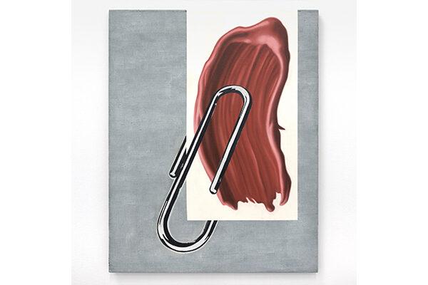 Anne Neukamp - Memo - 2017 - Öl, Eitempera und Acryl auf Leinen - 100 x 80 cm