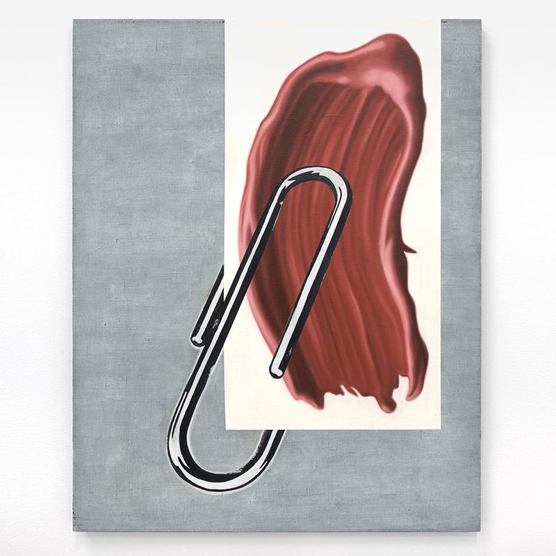 Anne Neukmap - Memo - 2017 - Öl, Eitempera und Acryl auf Leinen - 100 x 80 cm